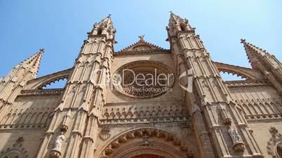 La Seu Cathedral in Palma de Mallorca Majorca in Spain