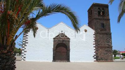 Old church on Fuerteventura Island, Spain