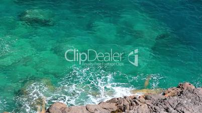 Clear crystal water, Mallorca Island, Balearic Islands, Spain