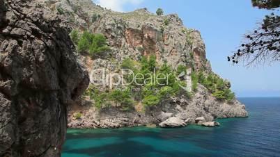 Clear crystal water, Mallorca Island, Balearic Islands, Spain