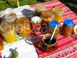 exhibition of honey