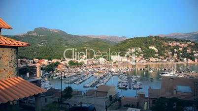 Marina in Port de Soller, Mallorca Island, Spain