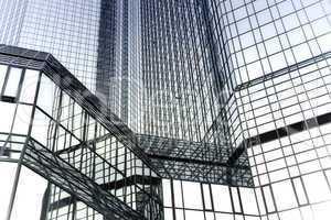 Abstrakte moderne Fassade