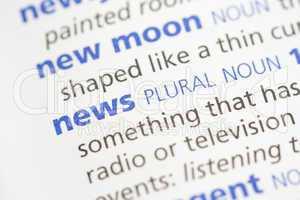News definition