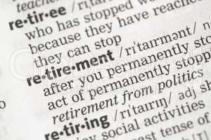 Retirement definition