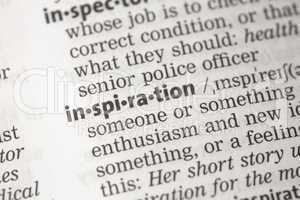 Inspiration definition