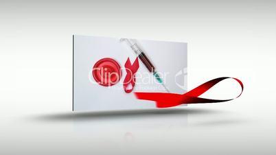 Aids awareness montage