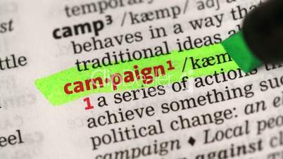 Definition of campaign