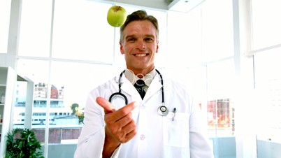 An apple a day keeps the doctor away video