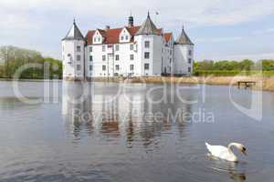 Wasserschloss in Glücksburg,Schleswig-Holstein