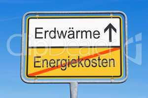 Energiekosten und Erdwärme