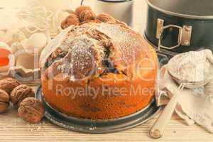 marble cake - vintage