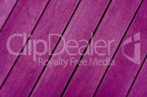 Diagonale violette Holzbretter
