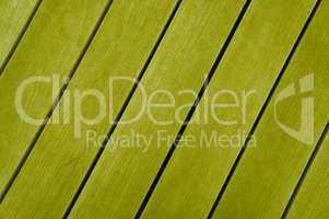 Gelbe diagonale Holzbretter