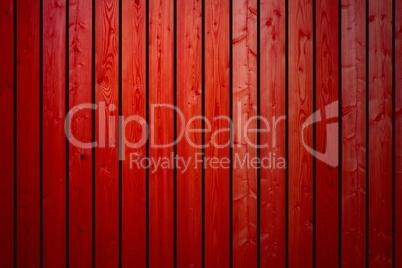 Hintergrund aus roten Holzbrettern