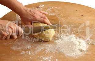 Dough for the dumplings
