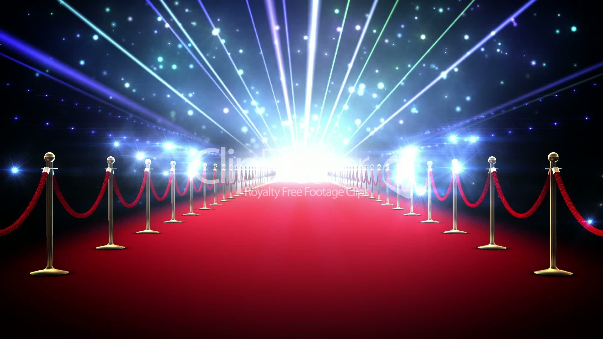 Magic Red Carpet Loop Royalty Free Video And Stock Footage
