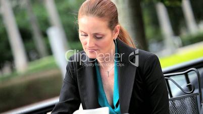 City Business People Informal Planning Meeting
