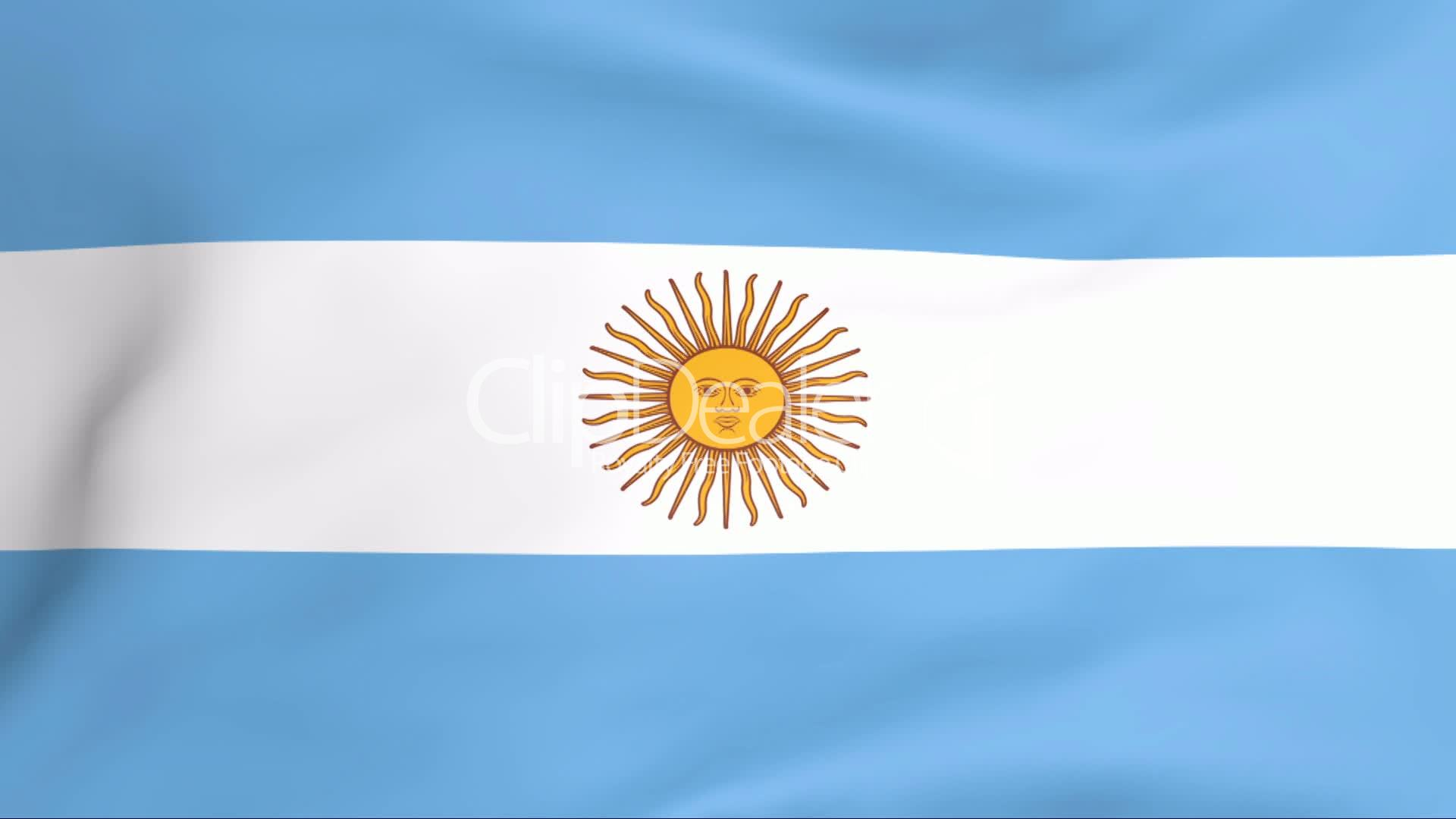 Flag Of Argentina Royalty-Free Video And Stock Footage-6054