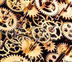 old mechanism background