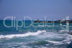 Waves on Tel Aviv betch