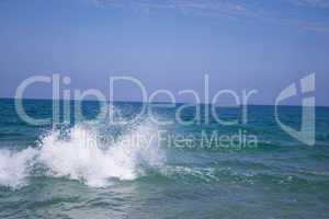 Waves on Tel Aviv beach