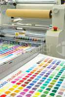 rollenoffset printing machine