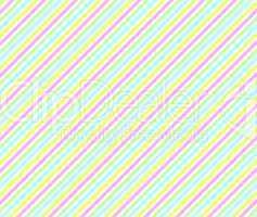 Hintergrund aus diagonalen Streifen in gelb, grün, blau und pink