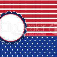 American flag background with stars symbolizing 4th july indepen