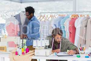 Team of fashion designers