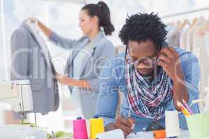 Fashion designer calling