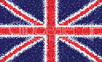 National flag of the United Kingdom of great britain and Northern Ireland