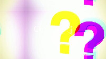 Question Mark Glitchy