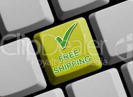 Free shipping - Gratis Versand
