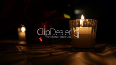 Decorative Candles Background