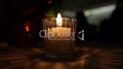 Decorative Candle Background