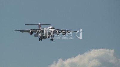 SWISS airplane