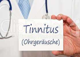Tinnitus - Ohrgeräusche