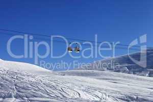 gondola lift at ski resort