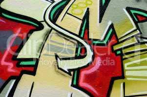 Pfeil graffiti