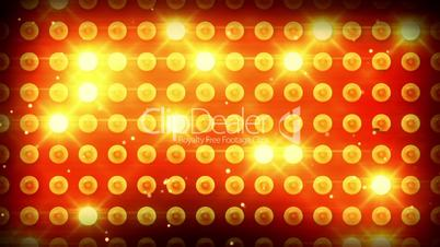 yellow lighting bulbs loop