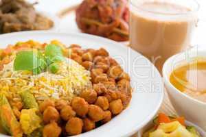 Biryani rice or pilau rice