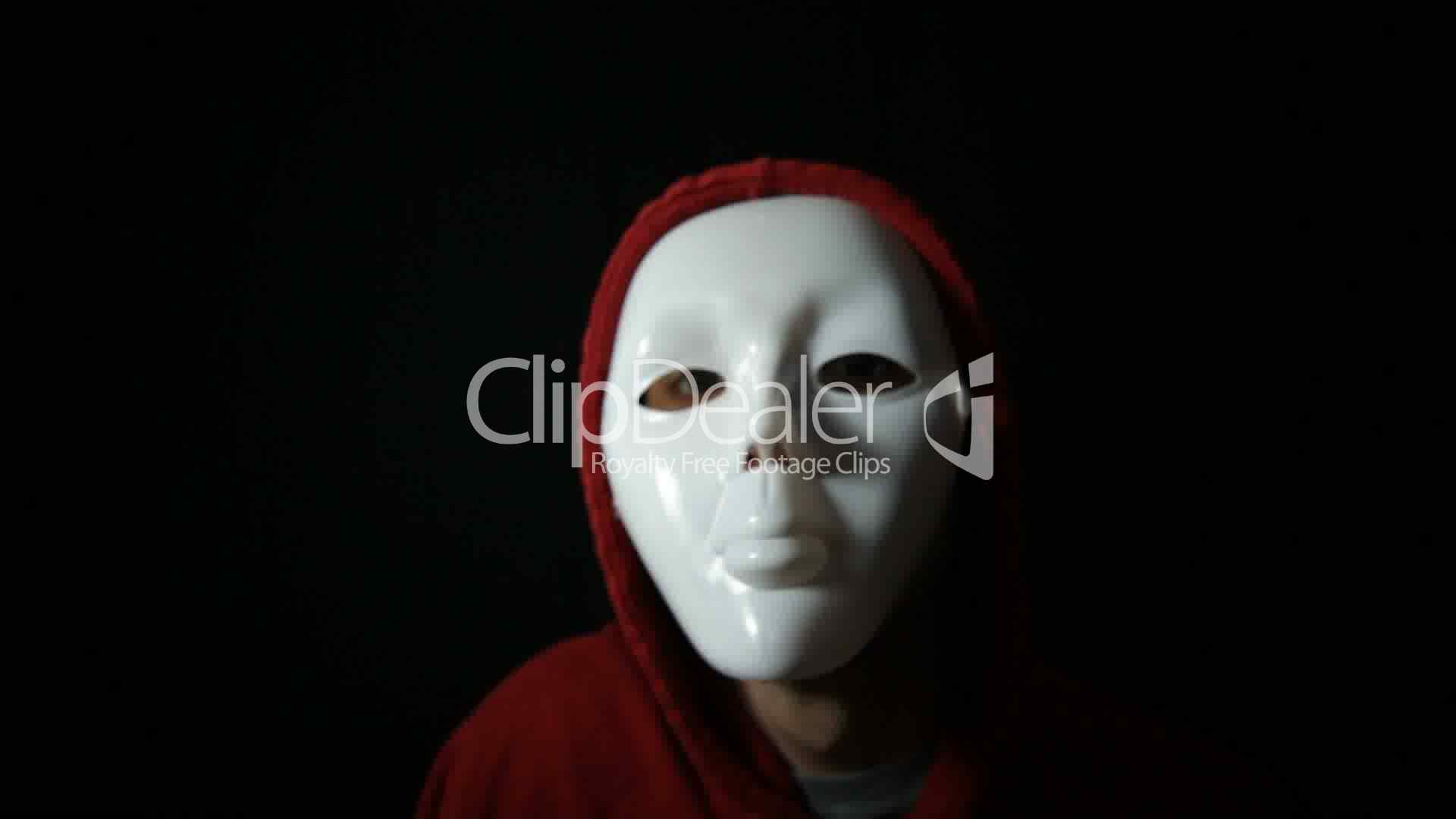 Horror face: Royalty-free video and stock footage