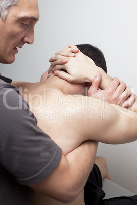 Rückenmanipulation