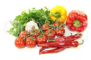 buntes mediterranes Gemüse