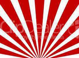 Hintergrund mit rot weißen Streifen in Sternenform