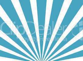 Hintergrund aus hellblauen und weißen Strahlen