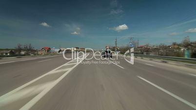 Suburban Driving