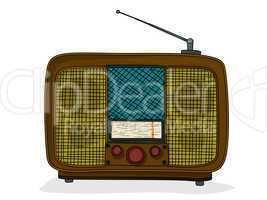 retro style radio
