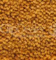 golden carpet texture detail